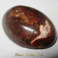 Batu Mulia Orange Jasper 25.50 carat