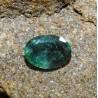 Batu Mulia Zamrud Hijau Tua 1.35 Carat