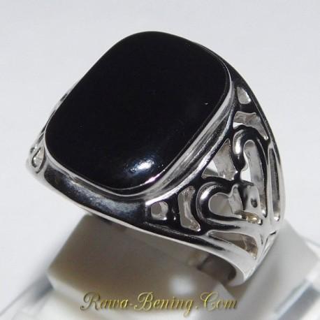 Batu Cincin Fashion Pria Filigree Ring 7US 1.00 Carat