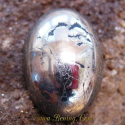 Pyrite Oval Cabochon 34.33 Carat