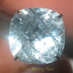 Batu Sky Topaz Cushion Facet 2.75 Carat