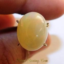 Batu Mulia Opal Pelangi Hijau 3.30 Carat