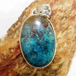 Liontin Blue Chrysocolla