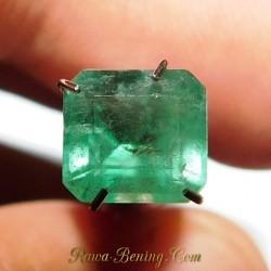 Batu Permata Square Cut Emerald 1.47 Carat
