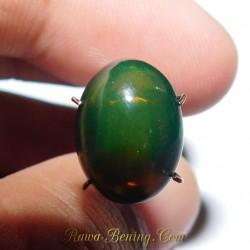 Batu Greenish Black Opal 3.60 Carat
