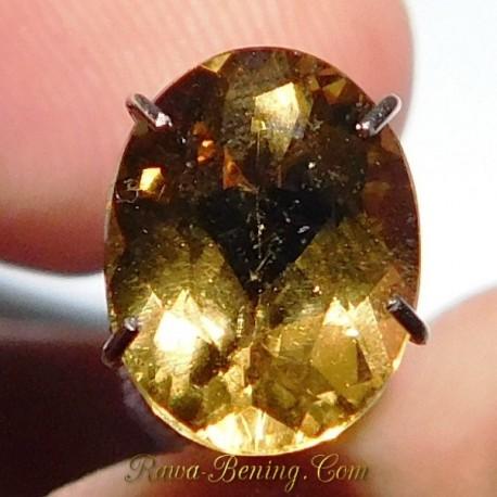 Batu Permata Natural Yellow Beryl 1.80 Carat