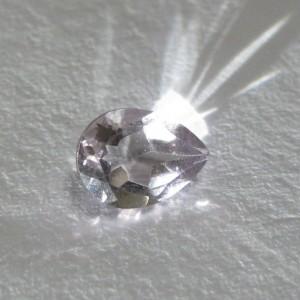 Pear Violet Amethyst 0.7 carat