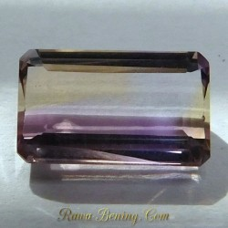 Light Ametrine Rectangular 4.55 Carat
