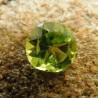 Round Cut Peridot 1.25 Carat