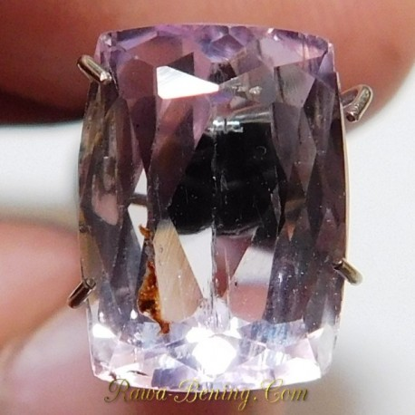 Batu Permata Natural Purplish Pink Kunzite 5.00