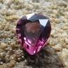 Batu Permata Asli Pear Shape Rhodolite Garnet 1.30 Carat