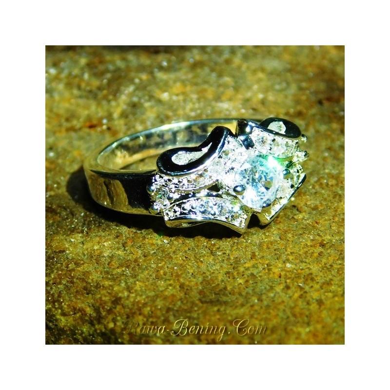 Jual Cincin Lapis Perak Harga Murah Model Exclusive Ring 75US