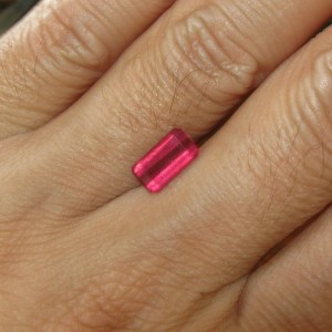 Natural Ruby Pinkish Red 2.08 carats