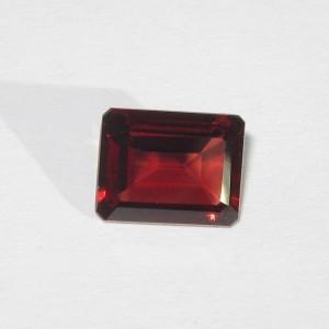 Rectangular Pyrope Garnet 2.40 carat