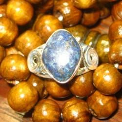 Silver 925 Ring 7.5 Batu Lapis Lazuli