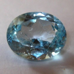 Blue Topaz 5.14 carat Oval Cut