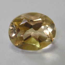 Yellow Citrine Oval Cushion Cut 4.11 Carat