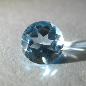 Round Blue Topaz 1.51 carat