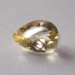 Medium Yellow Citrine Pear Shape 2.12 cts