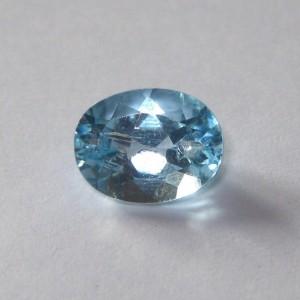 Batu Blue Topaz Oval 2.66 carat Superior Luster!