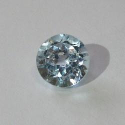Round Blue Topaz 1.66 carat