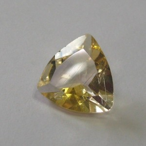 Trillion Yellow Citrine 0.8 cts