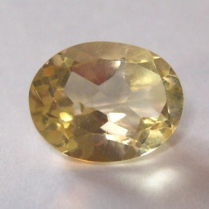 Yellow Citrine Oval 1.58 cts