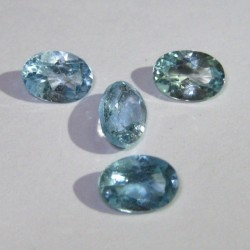 4 Pcs Blue Topaz 2.8 carat