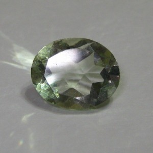 Green Amethyst Oval 2.60 cts
