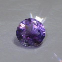 Round Purple Amethyst 3.10 cts