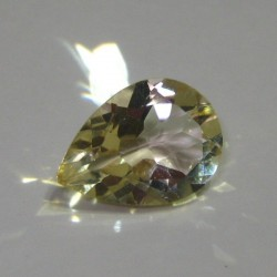 Yellow Citrine Pear Shape 3.5 cts