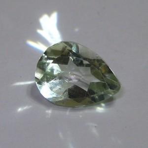 Pear Shape Natural Green Amethyst 2.15 cts
