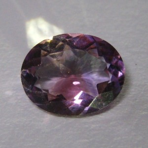Deep Purple Amethyst Oval 2.2 cts Strong Luster