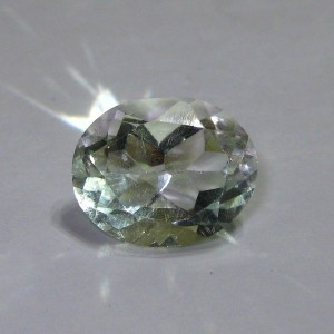 Green Amethyst Oval 3.5 cts
