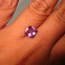 Cushion Cut Purple Amethyst 1.80cts