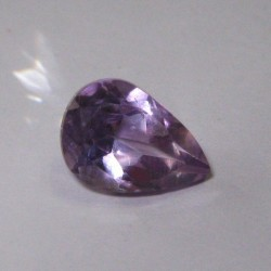 Pear Shape Medium Purple Amethyst 2.3 cts