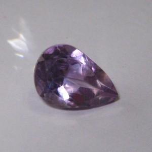 Pear Shape Medium Puple Amethyst 2.3 cts
