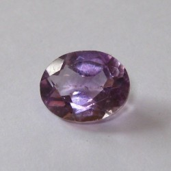 Medium Bright Purple Oval Amethyst 2.6 cts