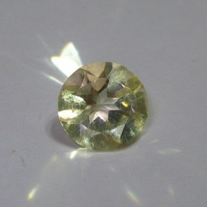 Natural Citrine Round Cut 1.15 cts