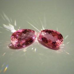 Pink Topaz Pear Shape Big Size