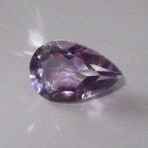 Pear Shape Light Purple Amethyst 3.20 cts untuk Liontin