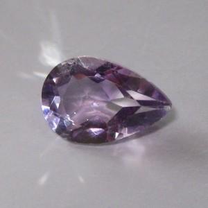 Pear Shape Light Purple Amethyst 3.20 cts untuk Liontin