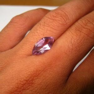 Marquise Amethyst Big Size 3.75 cts untuk custom ring