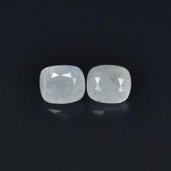 White Sapphire Ceylon 2 pcs 2.39 cts