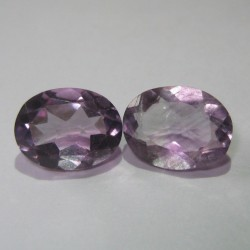 Kecubung Oval Romantis 3.10cts so cute they are .. isn't it ?