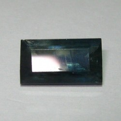 Ractangular Greenish Blue Sapphire 1.61 cts