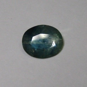 Oval Greenish Blue Sapphire 1.47 cts Elegant Color Mix!