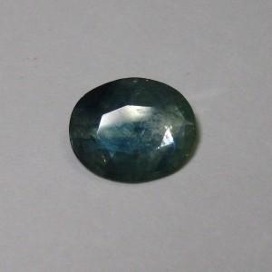 Oval Greenish Blue Sapphire 1.47 cts Elegant Color Mix!