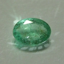 Natural Green Emerald Oval 1.00 cts