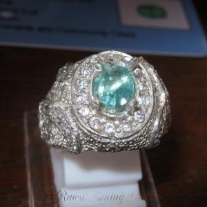 cincin zamrud ring 8us